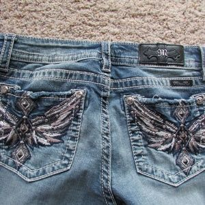 Miss Me Aztec Wing Jeans!NWT!29/34!